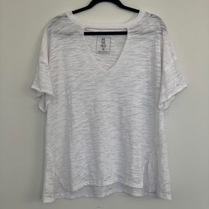 Free People Distressed V-Neck